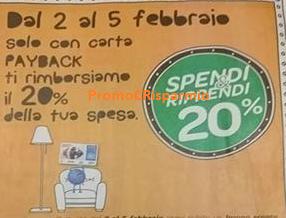 Logo Carrefour : Spendi&Riprendi il 20% sulla spesa
