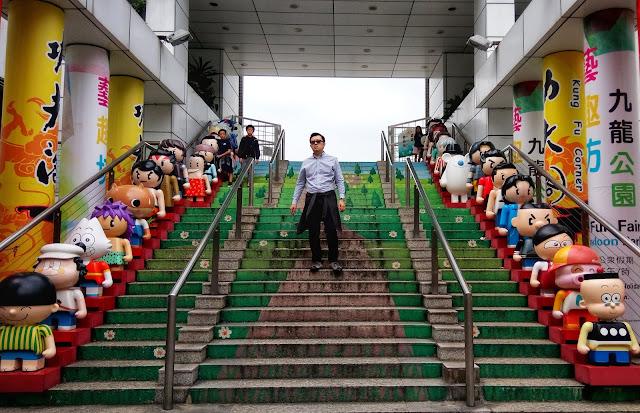 kowloon park in tsim sha tsui