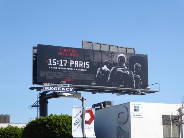 1517 to Paris movie billboard