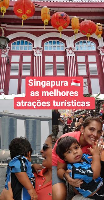 20 atrações turísticas que valem a pena em Cingapura