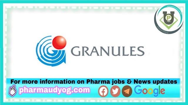 Granules India | Walk-in interview for Warehouse on 14th Jun 2021