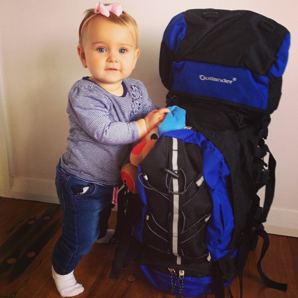 """""""Everyone thought we were completely nuts when we said that we were going to take Esmé"""" - 1-Year-Old Has Been Travelling Around The World Since She Was Born"""