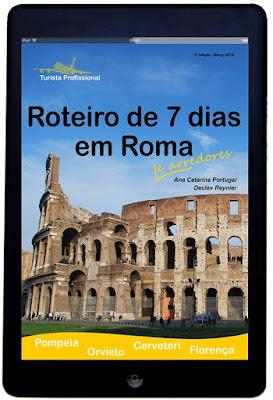 Compreo seu guia de Roma e arrededores!