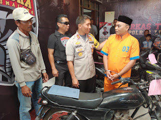 Di Lumajang,  PNS Ngembat Motor Teman PNS