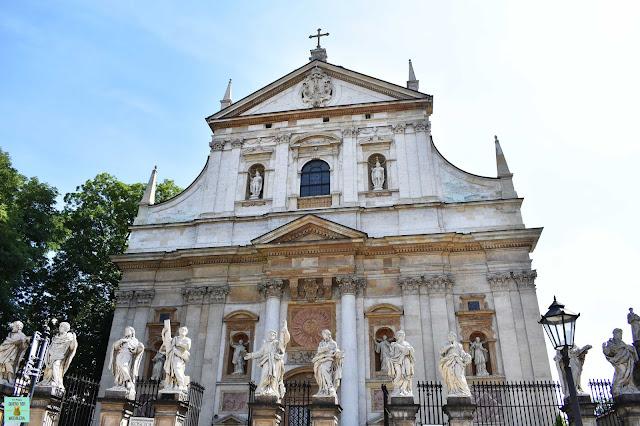 Igleisa de San Pedro y San Pablo, Cracovia