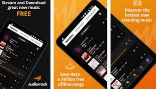 aplikasi download musik mp3 terbaik dan gratis di android -audiomack downloadnew music free