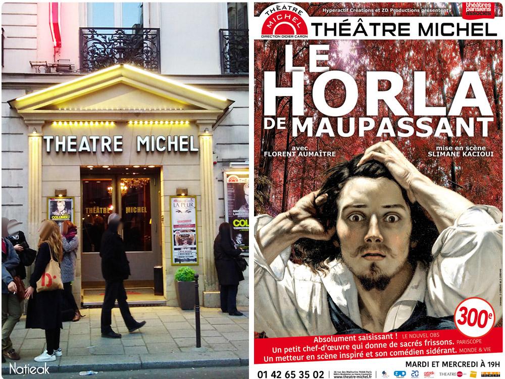 Théâtre Michel Le Horla