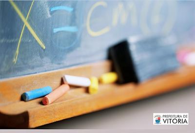 edital Concurso Prefeitura de Vitória abre 147 vagas para professores