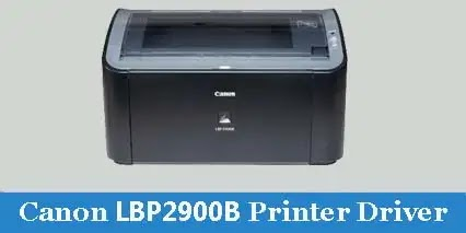 Canon LBP 2900B printer driver download