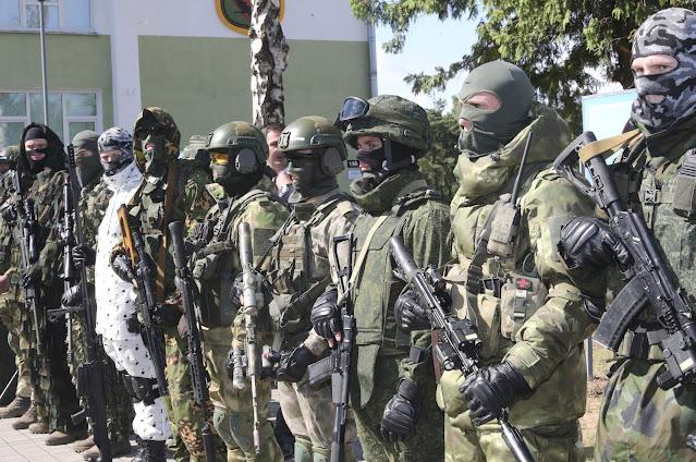 Tentara keamanan Belarusia