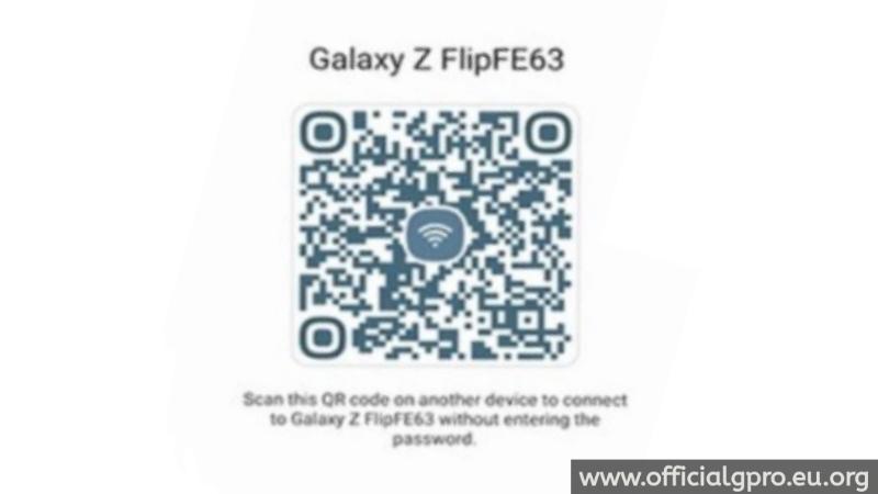 Cara Melihat dan Gunakan Kode QR Wi-Fi di Handphone Samsung
