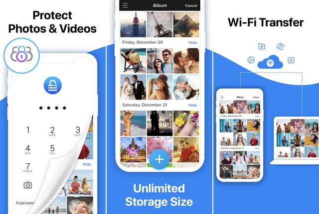 أفضل تطبيق لإخفاء الصور والفيديوهات للايفون