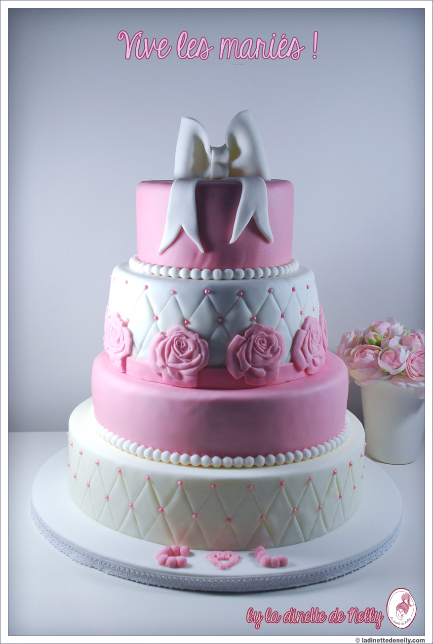 Wedding Cake Or Et Argent
