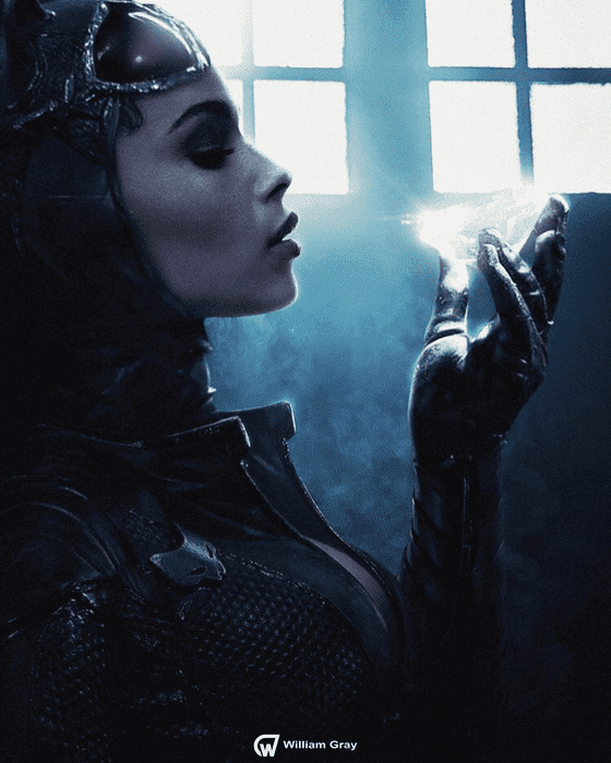 Fan art de Zöe Kravitz como Catwoman