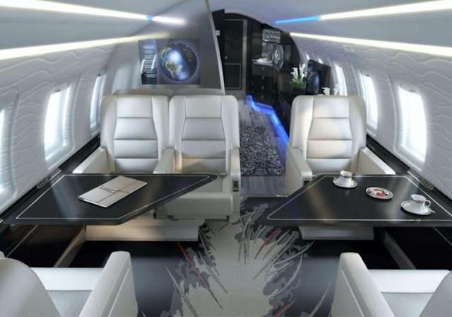 Nextant 604XT interior