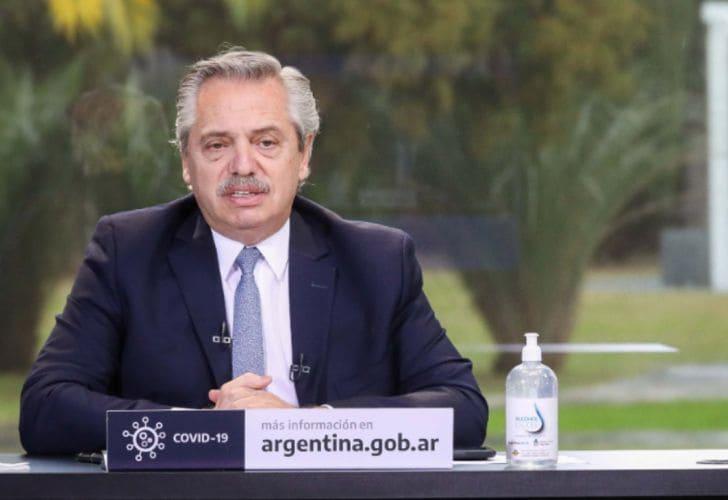 """""""Que no nos hagan perder el tiempo en disputas y divisiones"""", dijo Fernández"""