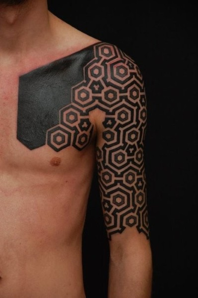 Tatuajes Geometricos Hombre