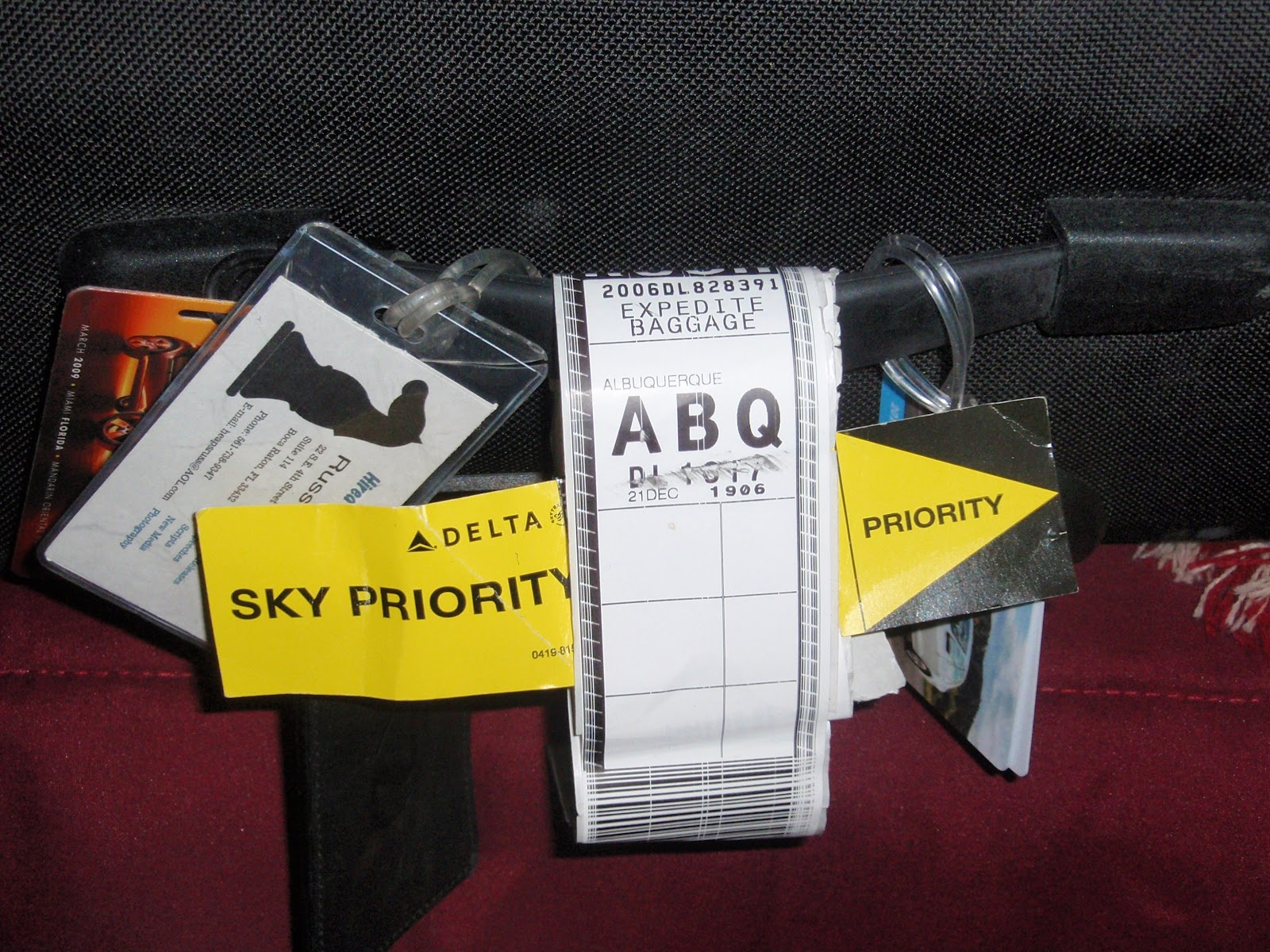 Priority Tag: Clanging Bell: Another Flight On Delta Or The Mysterious
