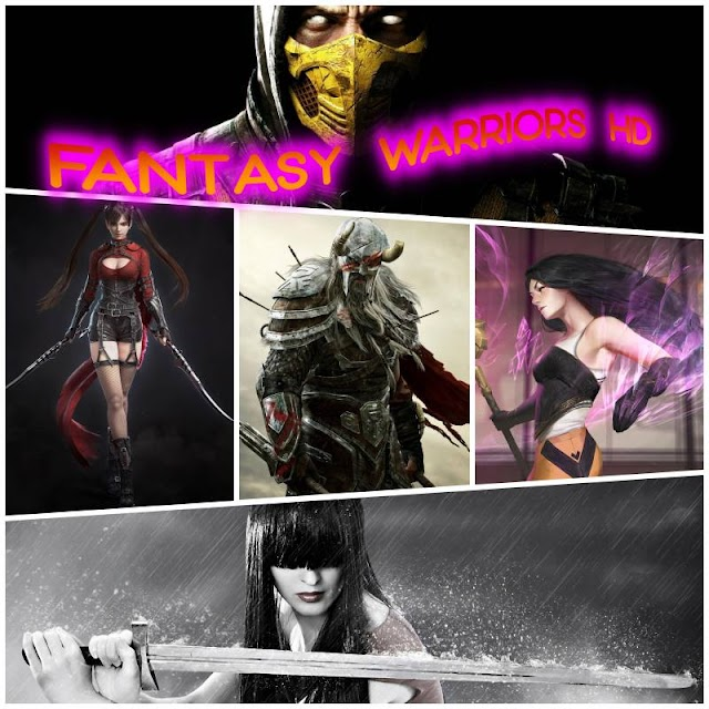 Wallpapers fantasy warriors HD