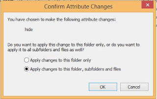 Cara Menyembunyikan File atau Folder di Komputer