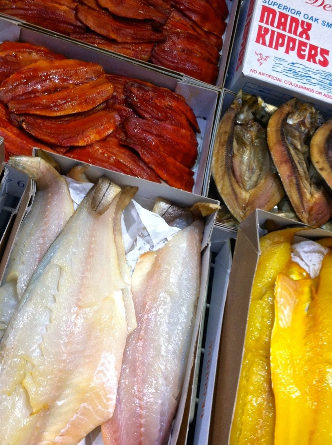 smoked and dyed fish, Billingsgate