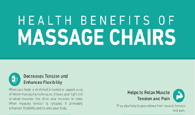 Health Benefits of Massage Chairs #infographic