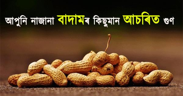 Peanuts health benefits