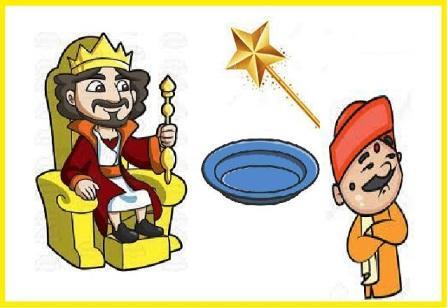 murkh raja aur pari ki chadi ki kahani
