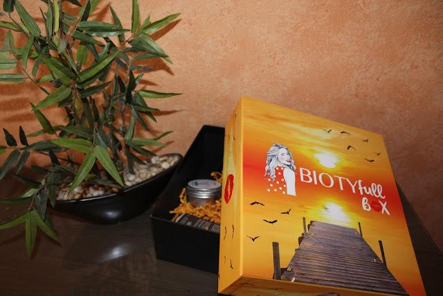 Biotyfull box d'août, pour ensoleiller mon été!