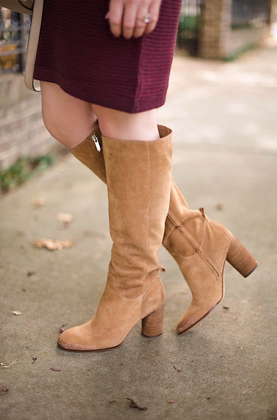 Sam Edelman Boots - Something Delightful Blog