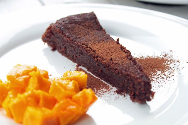 Chocolat bleu g teaux au chocolat sans farine - Gateau au chocolat sans farine ...