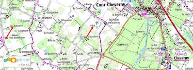 La Talonnerie et le Lut à Cheverny