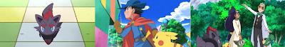 Pokemon Capitulo 38 Temporada 14 Una Historia De Película Zorua En La Leyenda Del Caballero Pokemon
