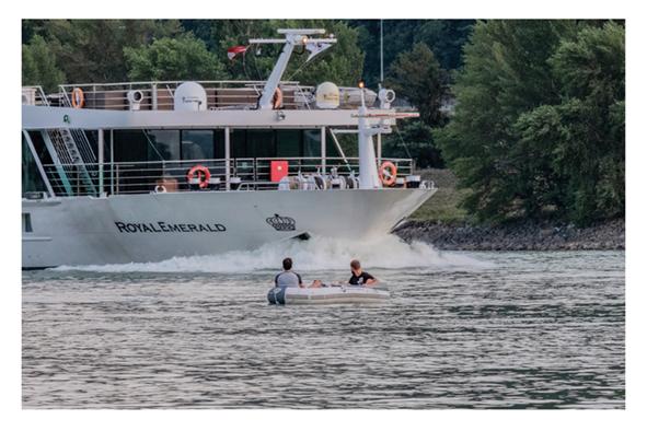 two men in a boat @ chris zintzen @ panAm productions