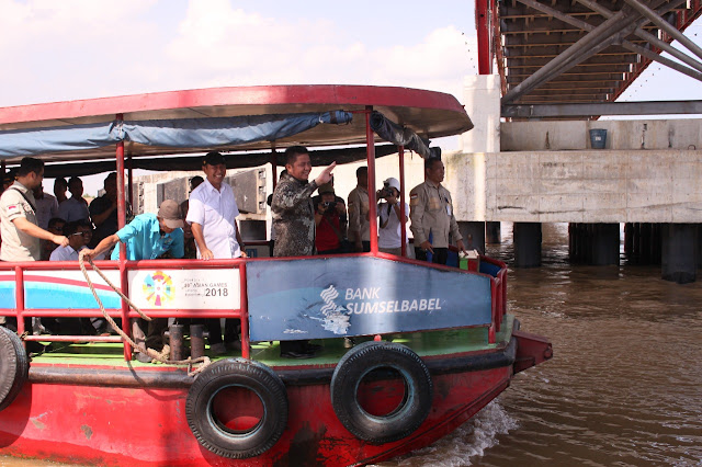 Gubernur Sumsel Pastikan Proyek Musi VI Rampung Tahun Depan