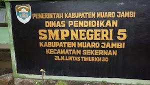 Kepsek SMPN5 Muarojambi Akui Pungut Uang Daftar Ulang, Serta Hina Profesi Wartawan