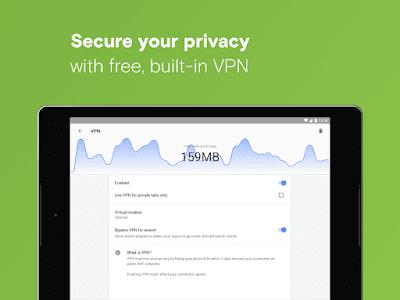 أفضل 4 متصفحات بها VPN مجاناً غير محدود للأندرويد