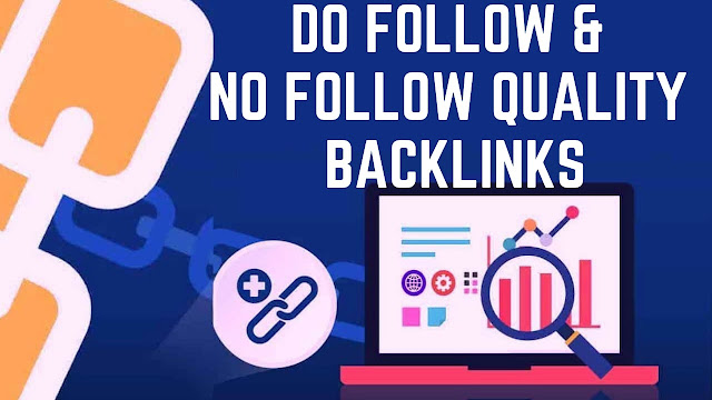 Dofollow backlinks & Nofollow quality backlinks comment & profile backlinks off page seo 2019