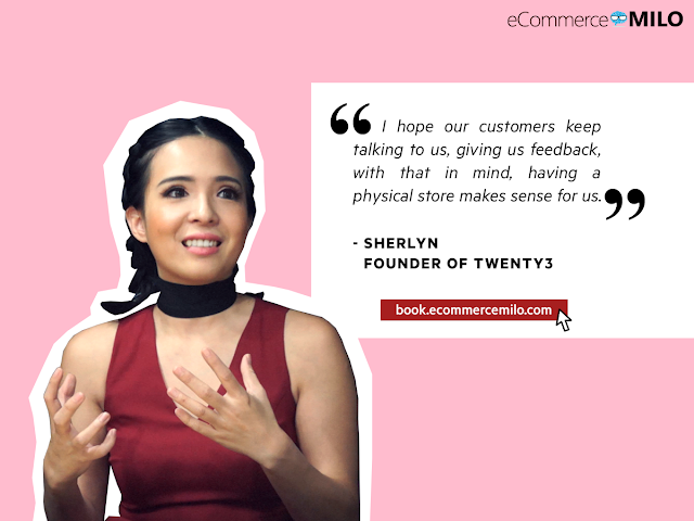 Sherlyn, Founder of Twenty3