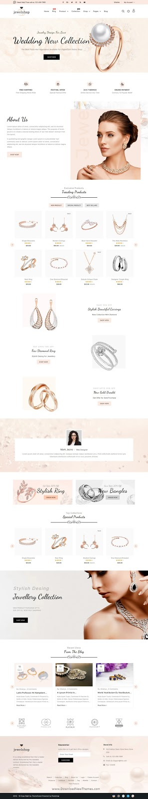 Premium Jewelry Responsive Shopify Theme