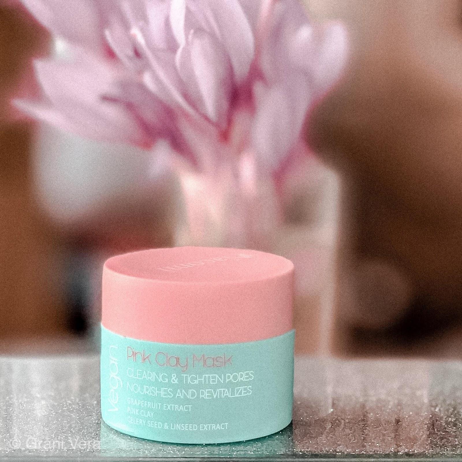Nacomi Pink Clay Mask - różowa maska oczyszczająca