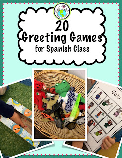 Greeting Games for Spanish Class