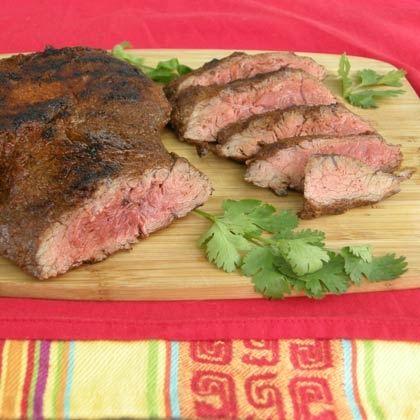Grilled Steak with Southwestern Rub Recipe