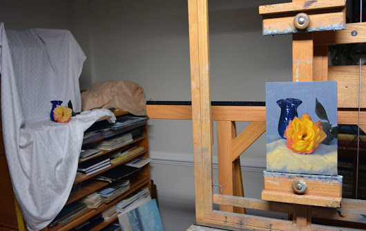 Still Life Paintings in the Studio