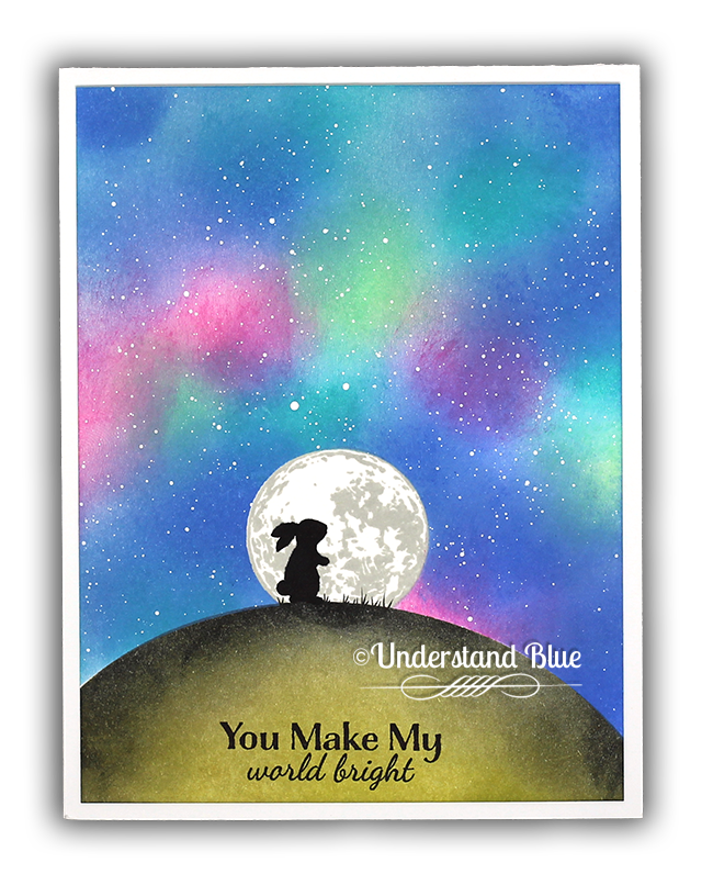 Masked nighttime scene with Hero Arts scene by Understand Blue