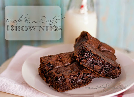Made-From-Scratch Brownies