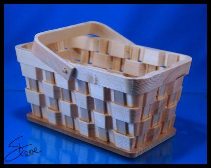 Scrollsaw Workshop: Woven Basket Scroll Saw Pattern