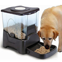 10L LCD Display Programmable Portion Contro Automatic Pet Food Feeder