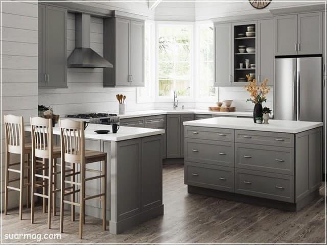 مطابخ مودرن خشب 10   Modern Wood kitchens 10