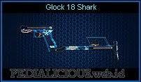 Glock 18 Shark